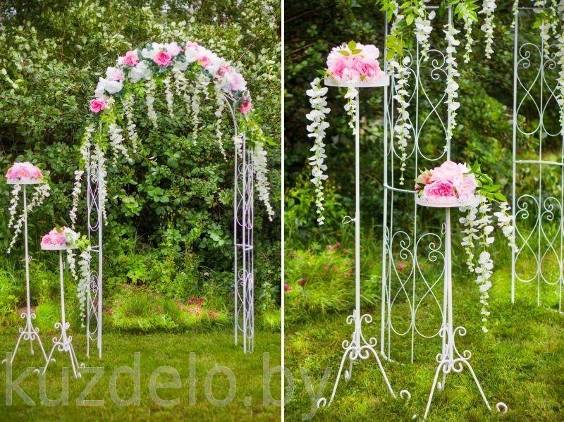 Цветы для свадебной арки своими руками