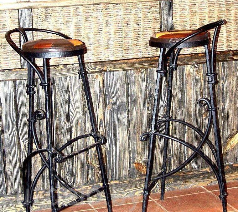 Барный стул из металла своими руками 15