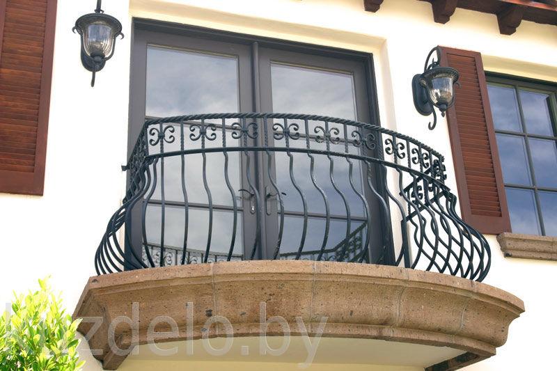 Купить кованые балконы в минске - низкая цена на кованые бал.