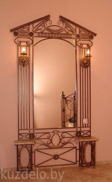 железные зеркала для дома